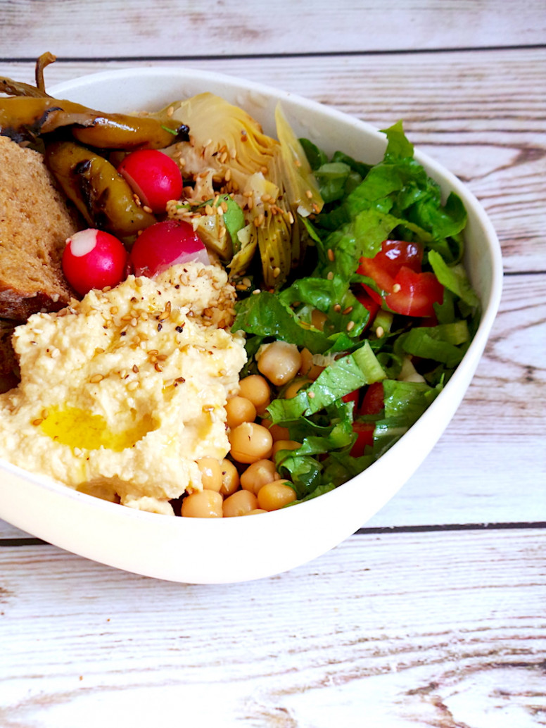 A Healthy Lunch Bowl You Can Throw Together In 10 Min ...