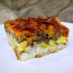 A Manly Breakfast Casserole – Potatoes, Bacon, Mushrooms …