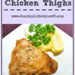 A Simple And Healthy Recipe For Chicken Thighs In The …