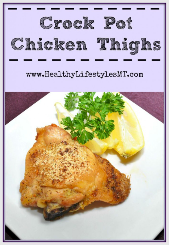 a simple and healthy recipe for Chicken Thighs in the ...