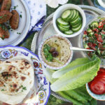A Simple Middle Eastern Dinner With An Edible Mosaic …