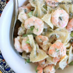 A Teaspoon and A Pinch: Shrimp and Pasta Salad