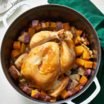 A Whole Roasted Chicken Dinner In A Dutch Oven | Kitchn