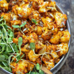 Air Fryer Buffalo Cauliflower - Laura Lea Balanced