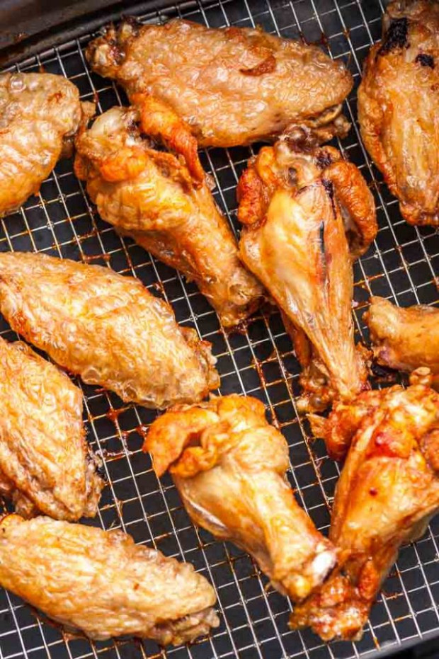 Air Fryer Chicken Wings Extra Crispy! | Plated Cravings