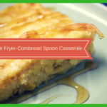 Air Fryer-Cornbread Pudding (Corn Casserole)