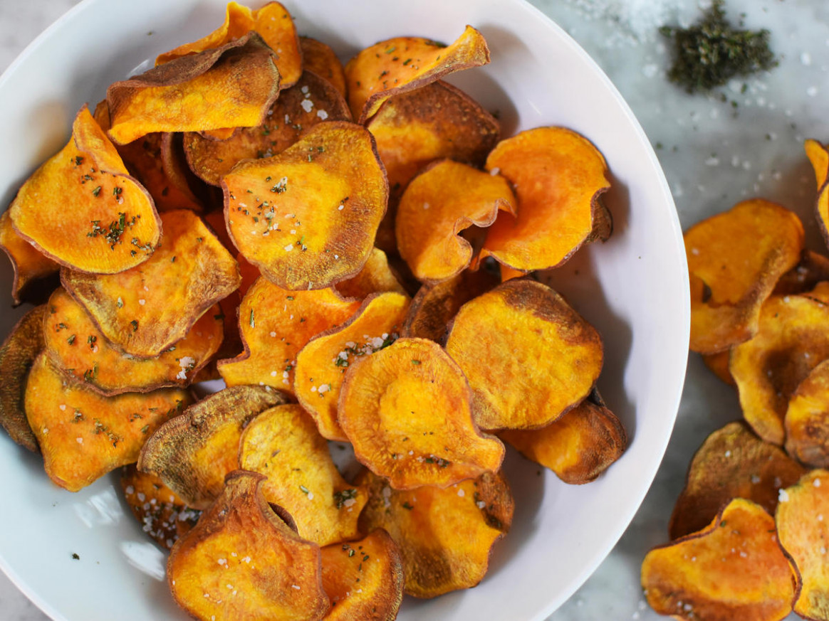Air Fryer Sweet Potato Chips Recipe - Cooking Light