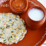 AKKI ROTI RECIPE | RICE ROTI RECIPE | Jeyashri's Kitchen