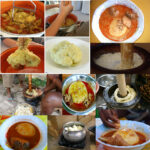 ALL AFRICAN DISHES: GHANA RECIPES (YAM FUFU WITH FRESH ...