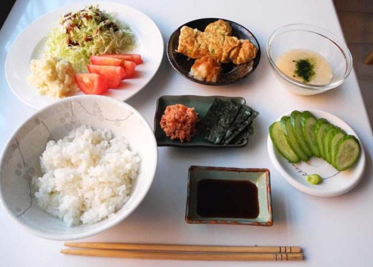 All sizes | Simple Japanese Dinner | Flickr - Photo ...