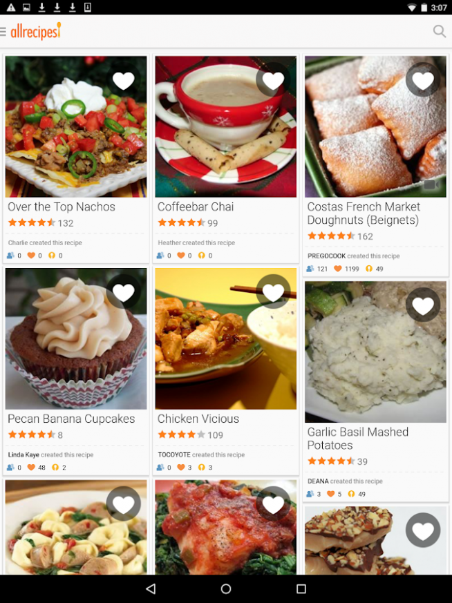 Allrecipes Dinner Spinner - Android Apps on Google Play