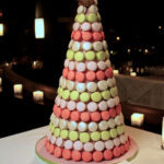 Almond Macaron Tree As A Dessert Centerpiece Idea