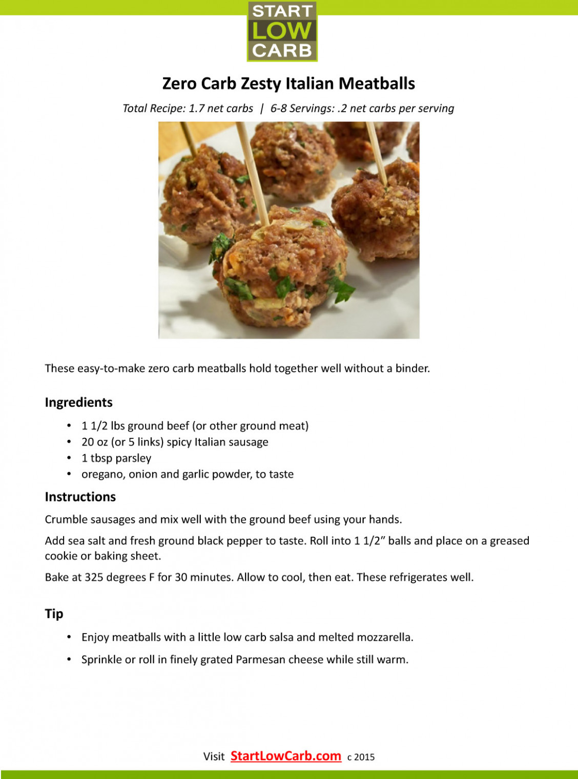 Almost Zero Carb Appetizers & Snacks   Start Low Carb