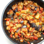 Aloo Baingan Recipe – Potato Eggplant Curry – Vegan Richa