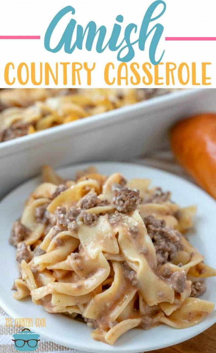 Amish country casserole   Recipe   Family Friendly Dinner ...