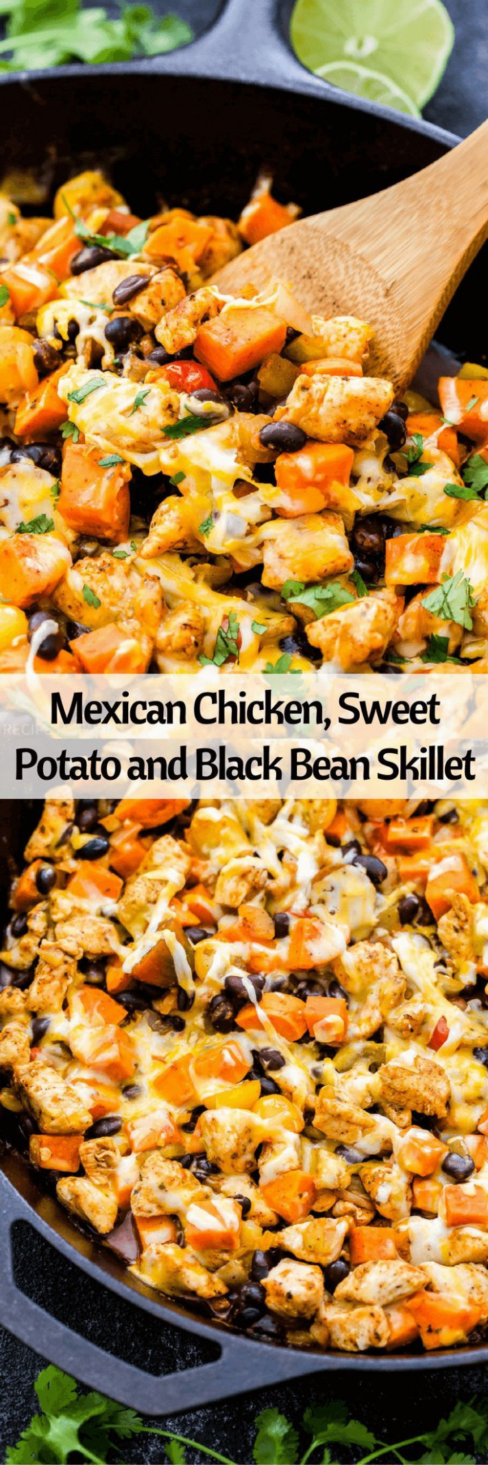 An easy dinner all made in one skillet- Mexican Chicken ...
