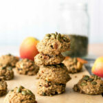 Apple Apricot Quinoa Cookies