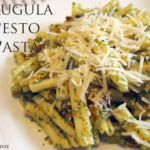 Arugula Pesto Pasta Recipe – Culicurious
