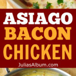 ASIAGO CHEESE Chicken With Lemon, Garlic, Bacon Cream …
