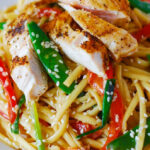 Asian Chicken Salad, Chicken Noodles Recipe, Chicken And Noodles, Chicken Pasta Salad