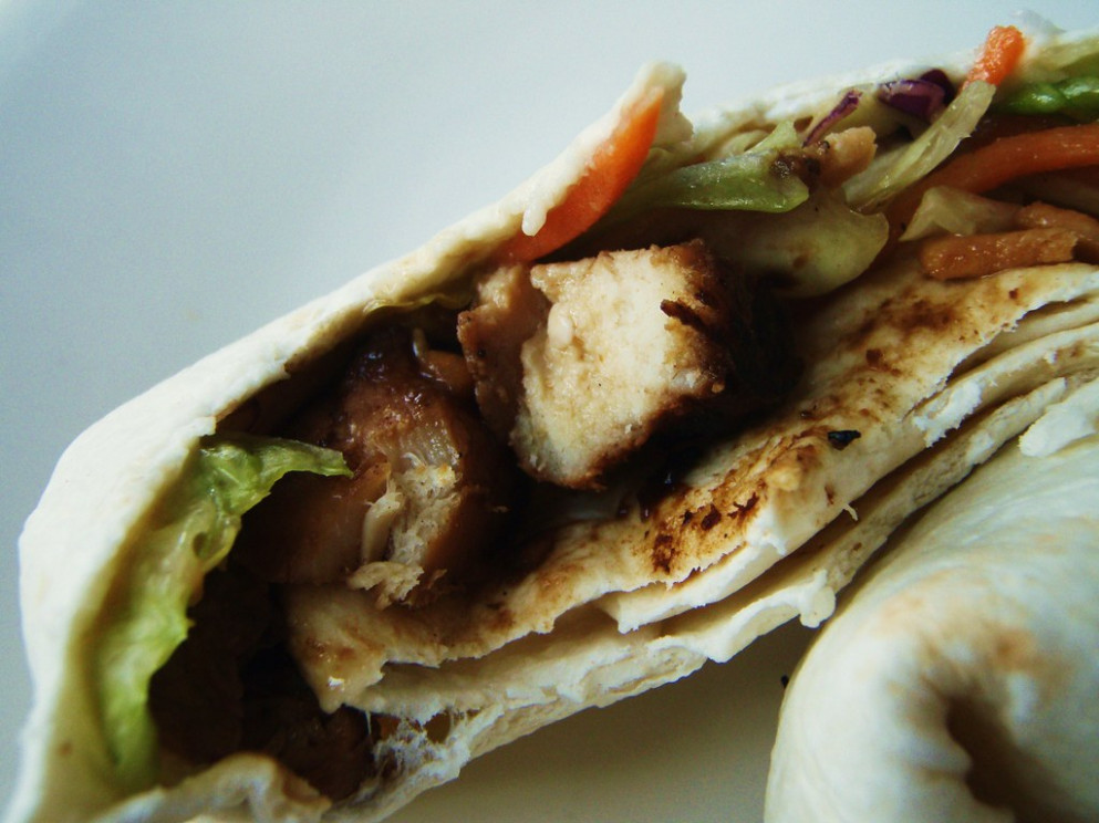 asian chicken salad wraps - 33