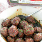 Asian Maple Sausage Meatballs – Foodtastic Mom