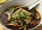 Asian Mushroom Chicken Soup Recipe   BettyCrocker