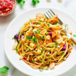 Asian Noodle Salad With Creamy Peanut Dressing | Well …