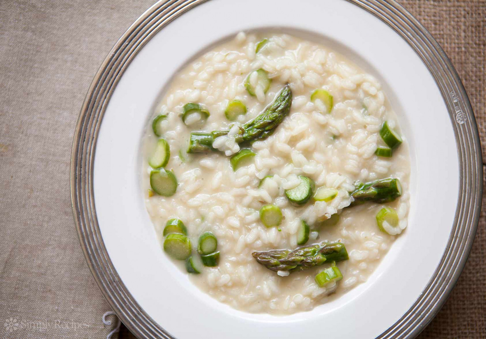 Asparagus Risotto Recipe | SimplyRecipes.com