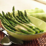 Asparagus With Maple Mustard Sauce