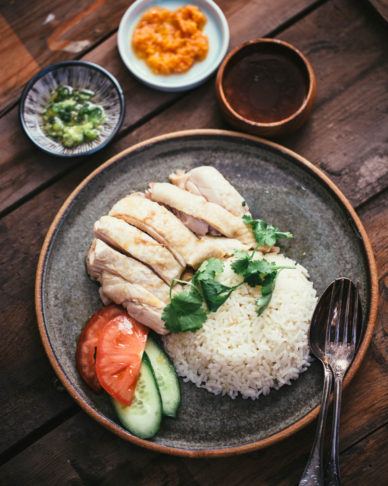 Authentic Hainanese Chicken Rice - adamliaw.com