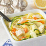 Avgolemono Greek Chicken Zoodle Soup For #SundaySupper …