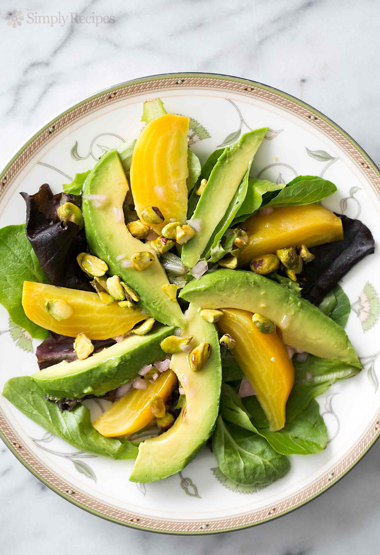 Avocado Beet Salad with Citrus Vinaigrette Recipe ...