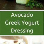 Avocado Greek Yogurt Dressing – Daily Fit Hit
