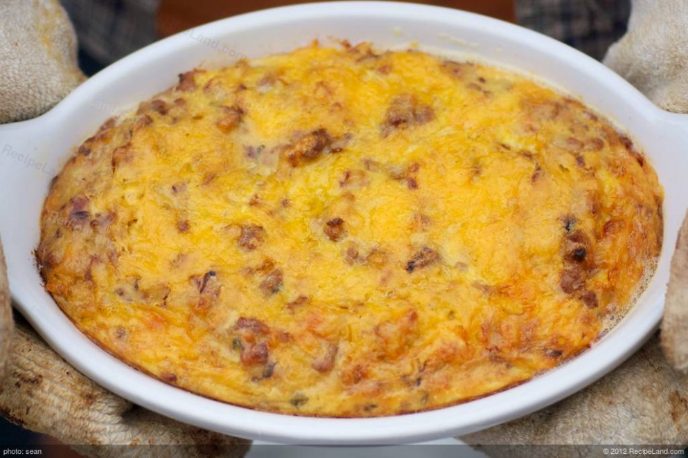 Awesome Breakfast Casserole For Two recipe