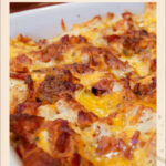 Bacon, Egg And Cheese Breakfast Casserole & Video