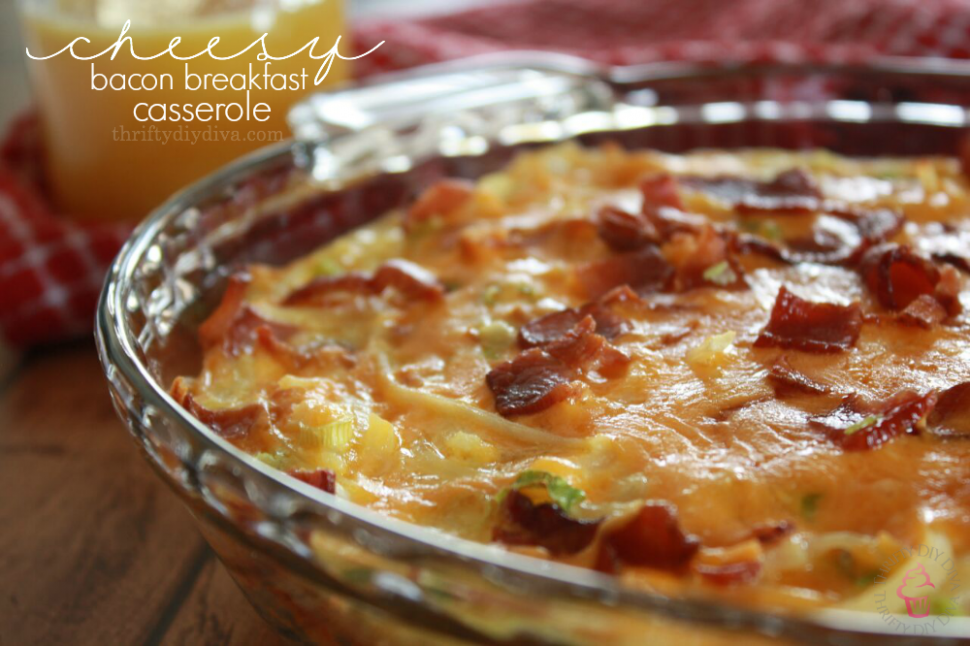 Bacon, Egg, Cheese and Hashbrown Breakfast Casserole ...