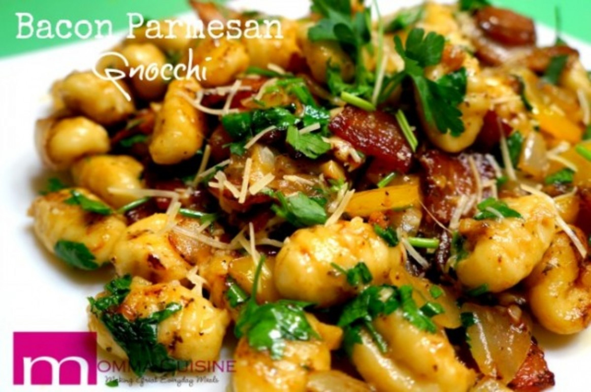 Bacon Parmesan Gnocchi - Recipes