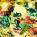 Bacon, Potato, And Kale Frittata