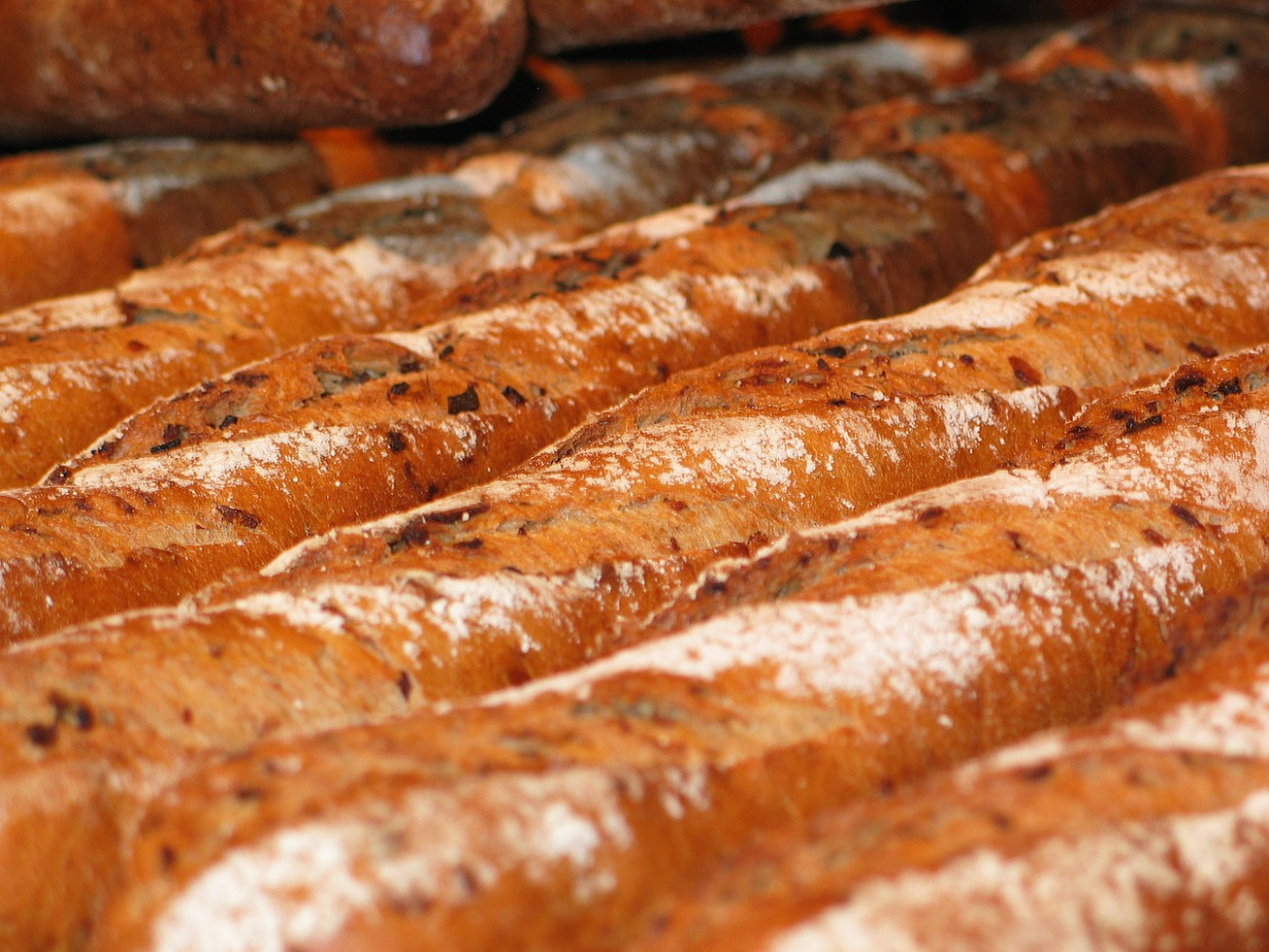 Baguette, Bread, Baked Goods, Food