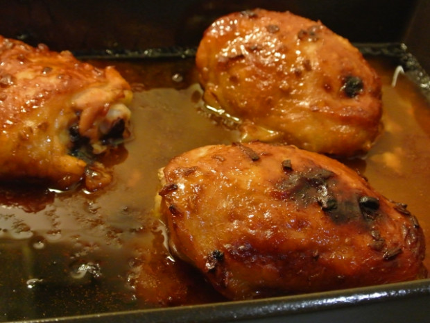baked apricot chicken | Crafty Sundries