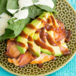 Baked Bacon Wrapped Chicken Breast with Avocado - The ...