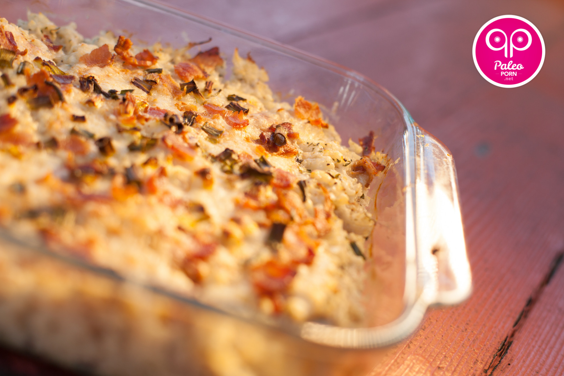 Baked Cauliflower Casserole - Paleo Porn: Steamy Paleo Recipes