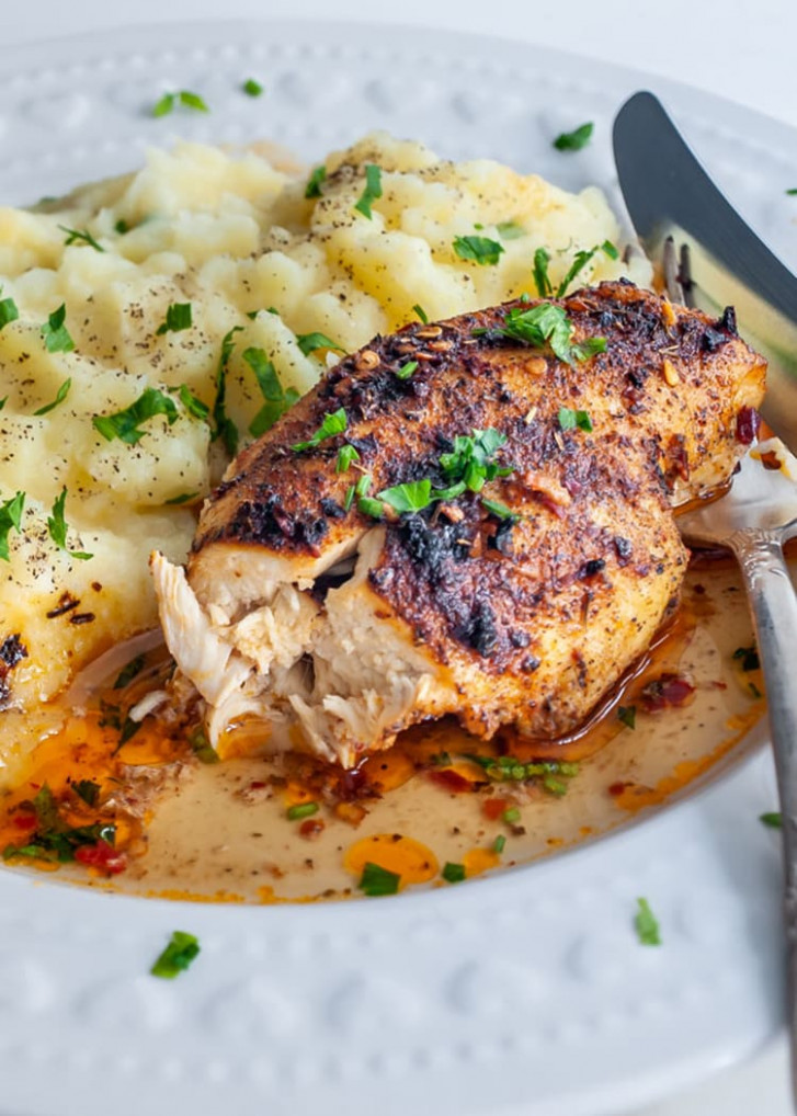 Baked Chicken Breast - Craving Home Cooked