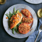 Baked Chicken Breasts & Dijon White Wine Sauce & Haricots …