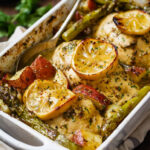 Baked Chicken Breasts With Lemon & Veggies — Eatwell101