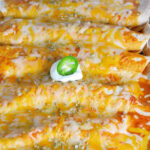 Baked Chicken Enchiladas + VIDEO – Easy Rotisserie Chicken …