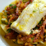 Baked Cod Loin Recipe With Braised Cucumber – Great …