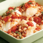 Baked Cod With Chorizo & White Beans Recipe – EatingWell