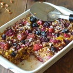 Baked Honey Berry Oatmeal – Apple Of My Eye